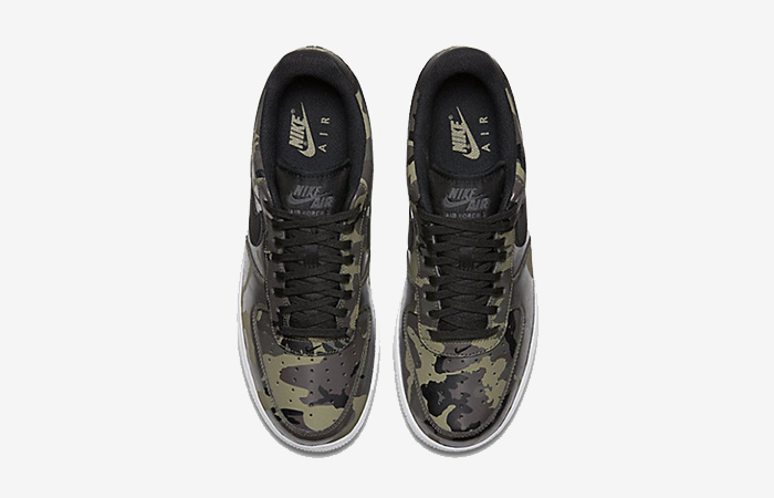 Nike Air Force 1 Camo Olive 823511-201 Buy New Sneakers Trainers FOR Man Women in United Kingdom UK Europe EU Germany DE 02