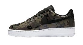 Nike Air Force 1 Camo Olive 823511-201 Buy New Sneakers Trainers FOR Man Women in United Kingdom UK Europe EU Germany DE 04