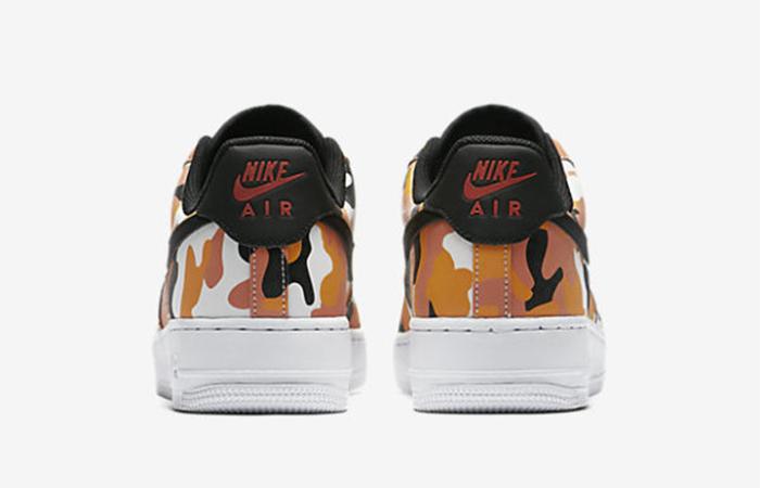 Nike Air Force 1 Camo Orange 823511-800 Buy New Sneakers Trainers FOR Man Women in United Kingdom UK Europe EU Germany DE 01