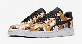Nike Air Force 1 Camo Orange 823511-800 Buy New Sneakers Trainers FOR Man Women in United Kingdom UK Europe EU Germany DE 03