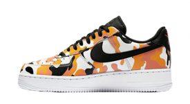 Nike Air Force 1 Camo Orange 823511-800 Buy New Sneakers Trainers FOR Man Women in United Kingdom UK Europe EU Germany DE 04