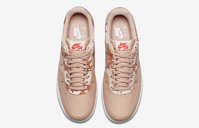 Nike Air Force 1 Camo Orange Quartz 823511-202 Buy New Sneakers Trainers FOR Man Women in United Kingdom UK Europe EU Germany DE 02