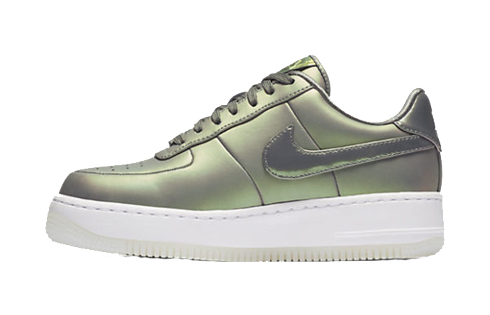 Nike Air Force 1 Upstep PRM Dark Stucco AA3964-001Buy New Sneakers Trainers FOR Man Women in United Kingdom UK Europe EU Germany DE 04