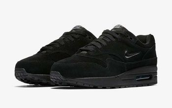 Nike Air Max 1 Jewel Triple Black Release Date AA0512-001 Buy New Sneakers Trainers FOR Man Women in United Kingdom UK Europe EU Germany DE FT
