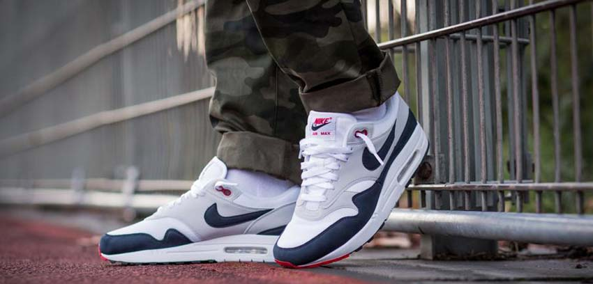 a3c70b8d31 The 30th anniversary of the Nike Air Max 1 cannot get any more dramatic  than this as the Nike Air Max 1 Obsidian makes its way to the stores this  December ...