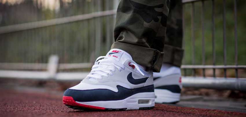 71f4770fe4 Nike Air Max 1 Obsidian 30th Anniversary 908375-104 Release Date Sneakers  Trainers FOR Man