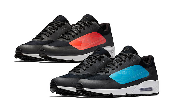 Nike Air Max 90 NS GPX Infrared and Laser Blue – Fastsole b62a53875