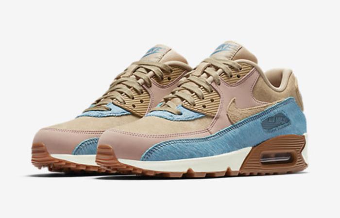 Nike Air Max 90 Smokey Blue 898512-200 Buy New Sneakers Trainers FOR Man Women in United Kingdom UK Europe EU Germany DE 03
