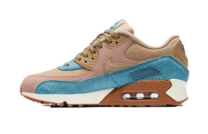 Nike Air Max 90 Smokey Blue 898512-200 Buy New Sneakers Trainers FOR Man Women in United Kingdom UK Europe EU Germany DE 04