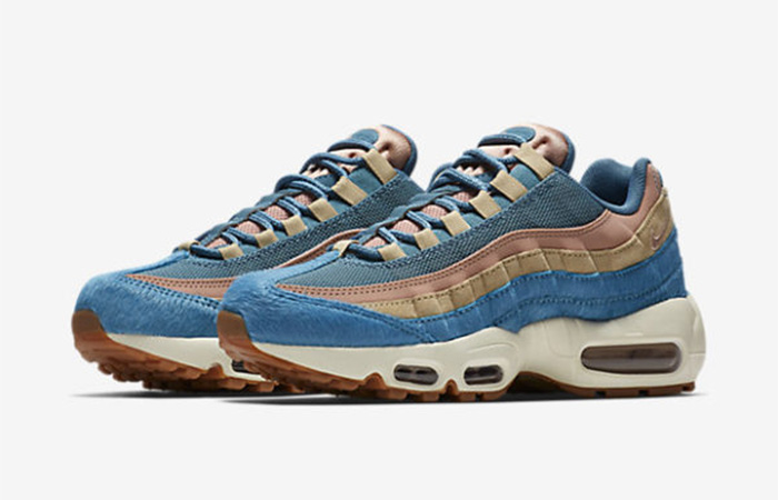brand new fd81a 83b66 ... Nike Air Max 95 Smokey Blue AA1103-002 Buy New Sneakers Trainers FOR  Man Women ...