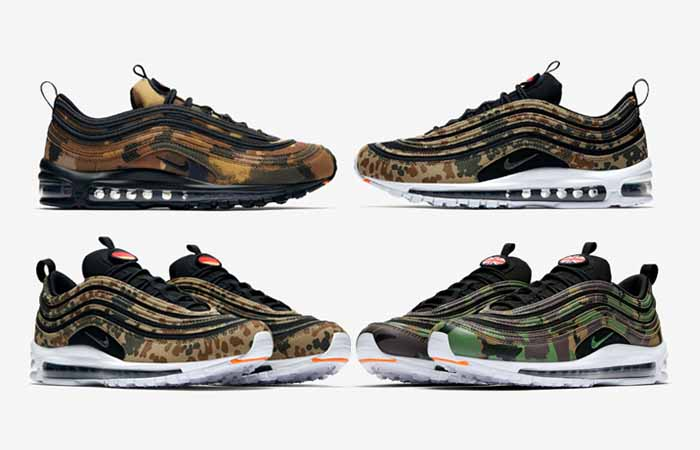 eaf4923f0ae Nike Air Max 97 Country Camo Pack Official Look – Fastsole