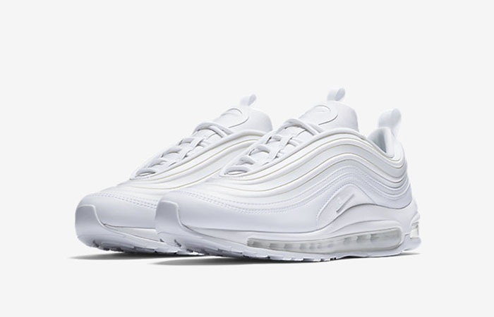 Nike Air Max 97 Ultra 17 Triple White Womens 917704 103