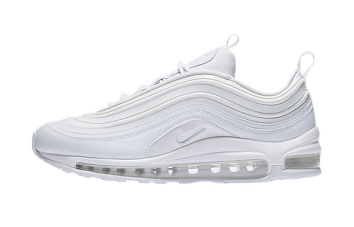 promo code b798e 4ba2f Nike Air Max 97 Ultra 17 Triple White Womens 917704-103 Buy New Sneakers  Trainers ...