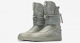 Nike SF Air Force 1 Hi Sage AA1128-201 Buy New Sneakers Trainers FOR Man Women in United Kingdom UK Europe EU Germany DE 02