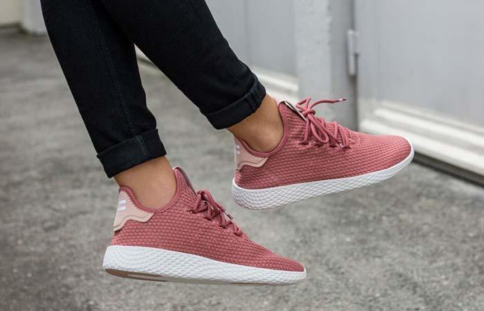 Pharrell Williams adidas Tennis Hu Pink DB2552