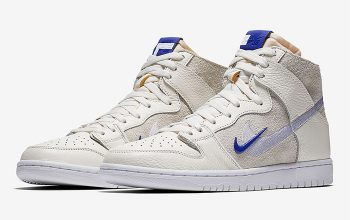 Soulland x Nike SB Dunk High Sail Royal Official Look Buy New Sneakers Trainers FOR Man Women in United Kingdom UK Europe EU Germany DE Sneaker Release Date Feature