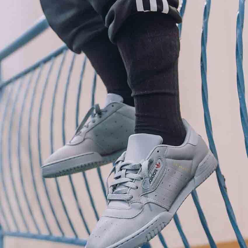 official photos 94de2 02eba Yeezy Powerphase Calabasas Grey releases on December 9th via listed UK and  European retailers. Stay glued to get all the details on this pack.