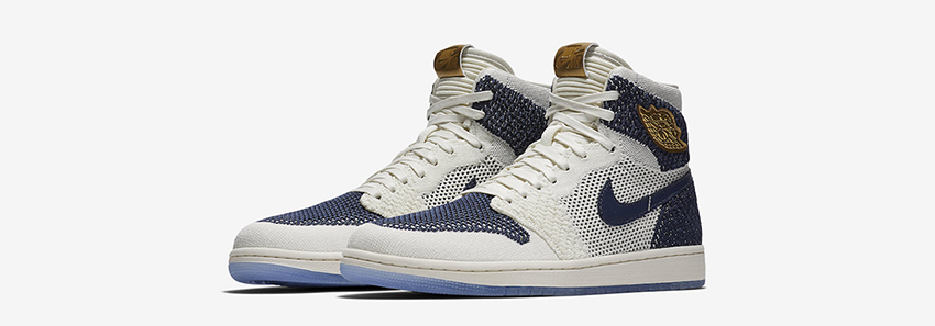 2d010388ffe2ec Air Jordan 1 Flyknit RE2PECT drops this February with the perfect colour  palette and construction! University blue and sail white are the classic  colours ...