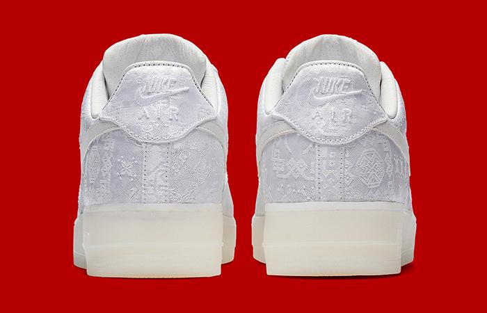 CLOT x Nike Air Force 1 White AO9286 100
