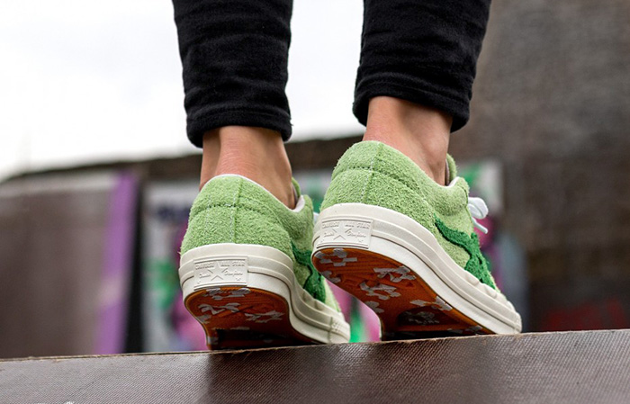 f1c0a59c25b4 ... Converse x Tyler Golf Le Fleur One Star Lime 160327C Buy New Sneakers  Trainers FOR Man ...