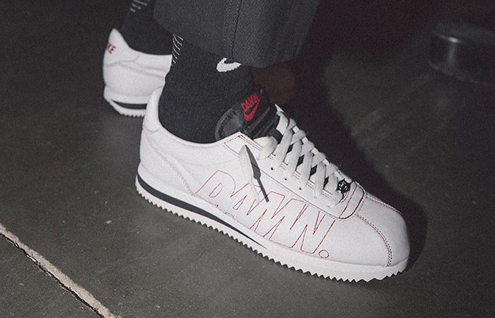 cheap for discount 73c7d fe41f Kendrick Lamar x Nike Cortez Kenny 1 White AV8255-106
