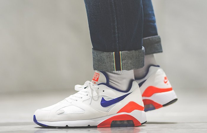 54efcf6aea806 Nike Air 180 Limited Air Bubble releases this February and the Fall vibes  are already flowing! This exposed-air bag with a complete 180-degree  cushioning ...