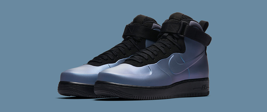 c5671c93a42 Nike Air Force 1 Foamposite Cup looks like it comes straight outta future!  The sci-fi vibe of the iridescent sidewall and forefoot layer must be the  reason ...
