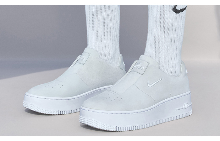 brand new 8a83b 446a8 Nike Air Force 1 Sage XX Reimagined White Womens AO1215-100