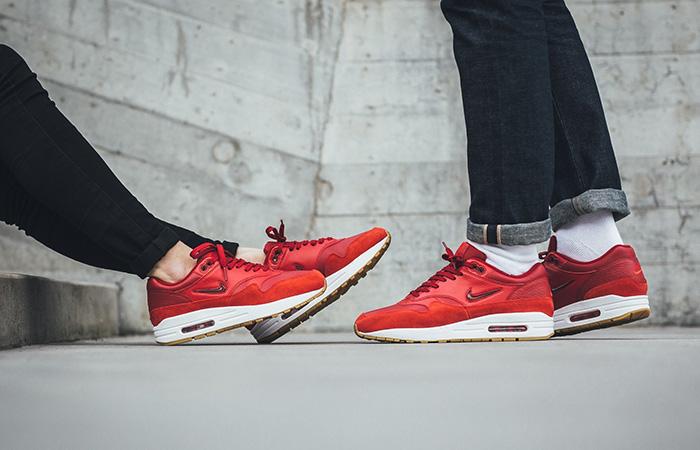 wholesale dealer 4f5b8 90da4 Nike Air Max 1 Premium SC Red Women AA0512-602 Buy New Sneakers Trainers  FOR ...