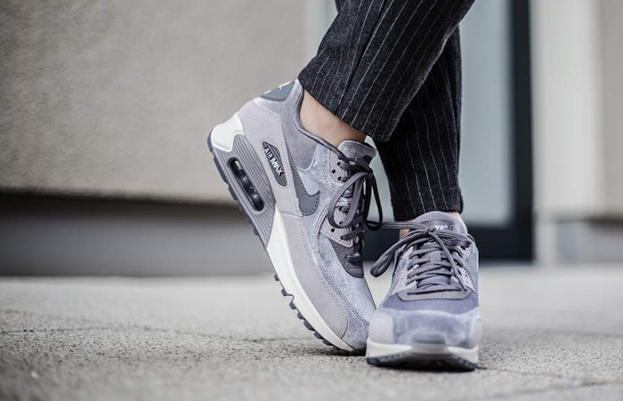 Nike Air Max 90 LX Gunsmoke Women 898512 007
