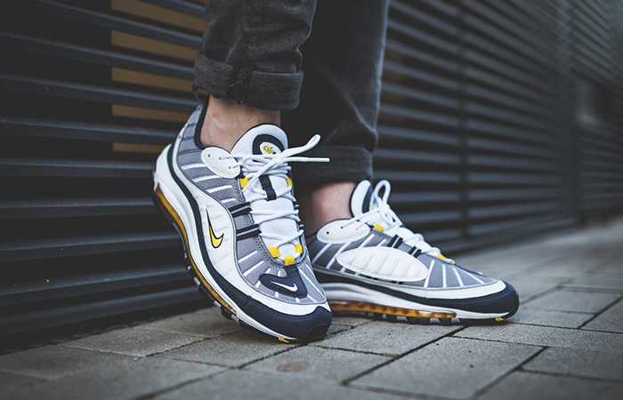 new product eb440 c9a0f Nike Air Max 98 Tour Yellow 640744-105