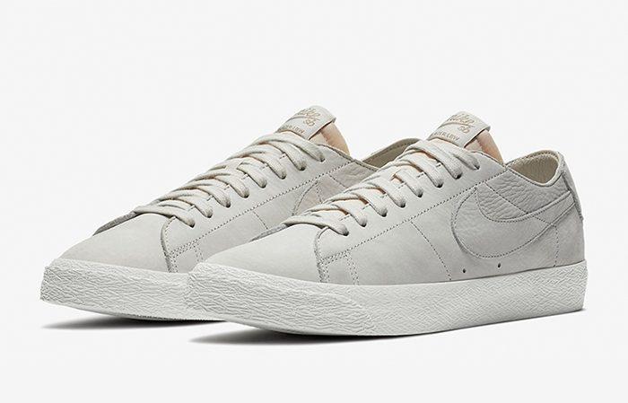 sports shoes ddea4 a2eb4 Nike SB Zoom Blazer Low Decon Light Bone AA4274-001