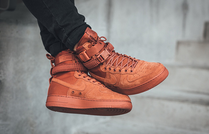 Nike SF Air Force 1 Dusty Peach 864024 204