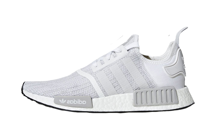 meet 7c9bb 0f068 adidas NMD R1 Grey White B79759