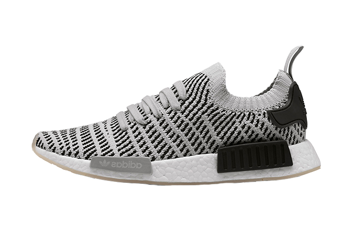 sports shoes ff121 7a125 adidas NMD R1 STLT Primeknit Grey CQ2387