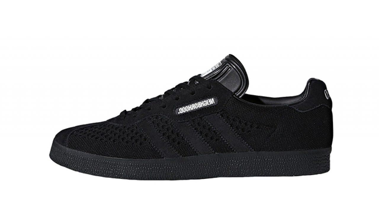 outlet store fc359 fbfb3 Neighborhood x adidas Gazelle Super Black DA8836