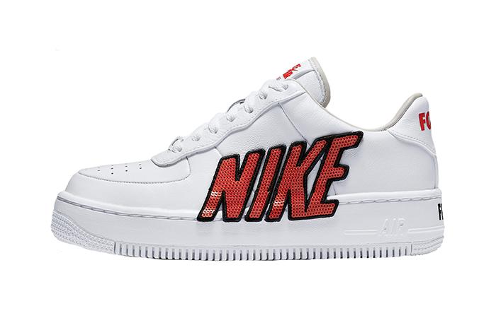 huge discount 57963 ee791 Nike Air Force 1 Upstep White 898421-101
