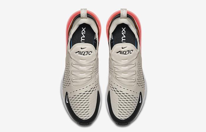 Nike Air Max 270 Light Bone Red AH8050-003 01