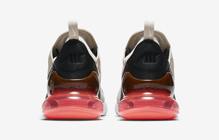 Nike Air Max 270 Light Bone Red AH8050-003 02