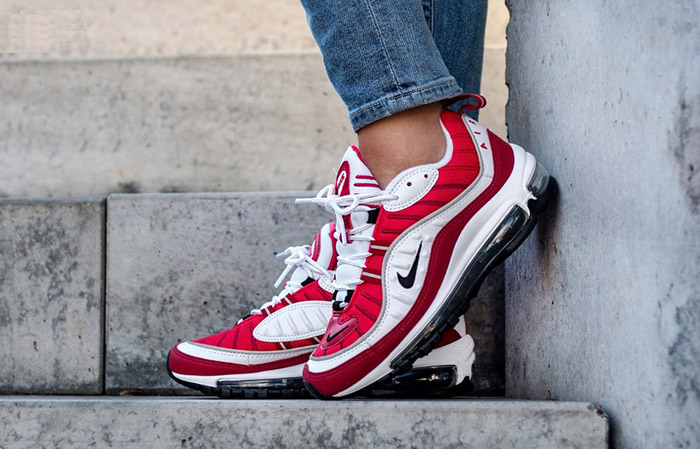 the best attitude 511d1 536a2 Nike Air Max 98 Gym Red AH6799-101 01 ...