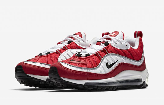 9628134eb9 ... Nike Air Max 98 Gym Red AH6799-101 02 ...