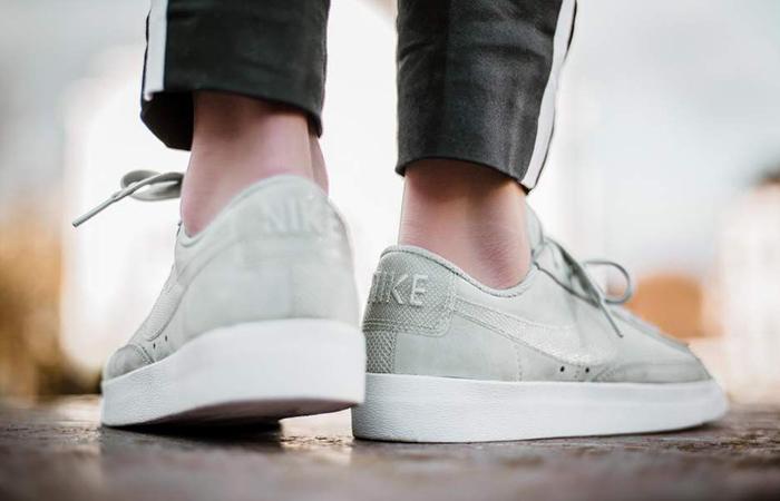 separation shoes f6dc2 79208 ... Nike Blazer Low LX Green Womens AA2017-005 02 ...