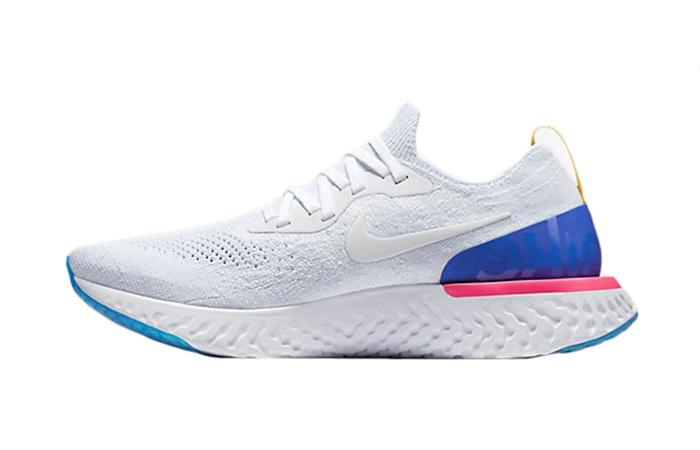 5ed87209fa41 Nike Epic React Flyknit White AQ0067-101 – Fastsole