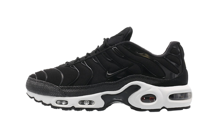 new styles 63028 cdf0d Nike Air Max Plus Premium Black White Womens 848891-001