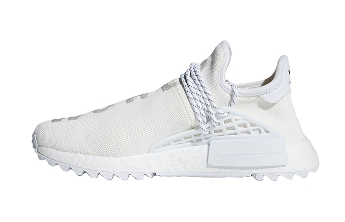 best sneakers 70298 91ee5 Pharrell adidas Hu NMD Holi Cream AC7031