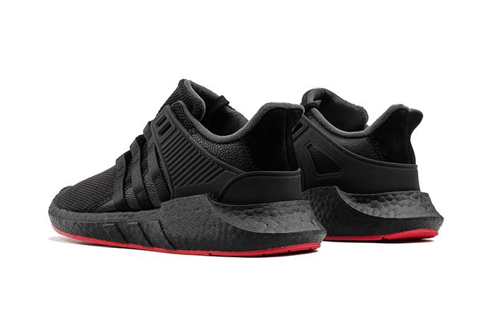 newest b2204 ea85a adidas EQT Support 93/17 Red Carpet Pack Black CQ2394