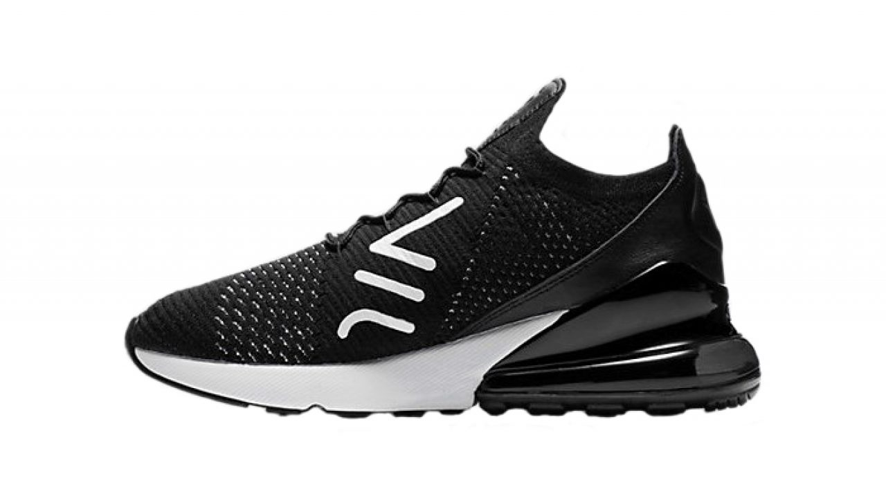 on sale 12dda 8602b Nike Air Max 270 Flyknit Black AH6803-001 – Fastsole