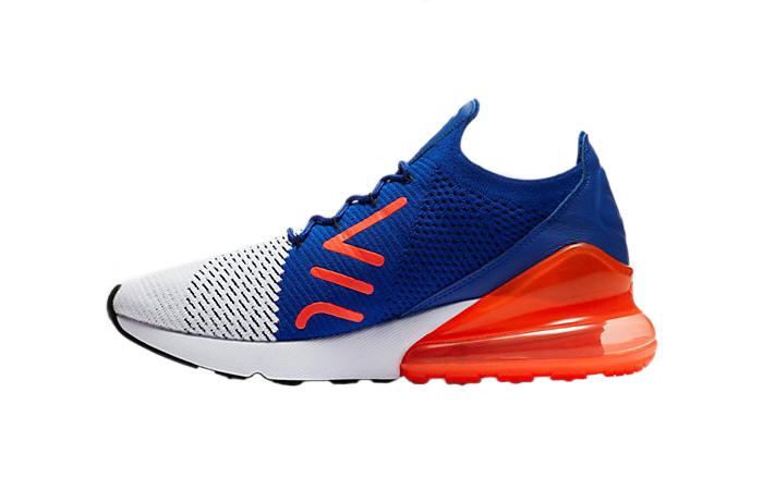 dc46bc3d9b26 Nike Air Max 270 Flyknit Blue AO1023-101 – Fastsole