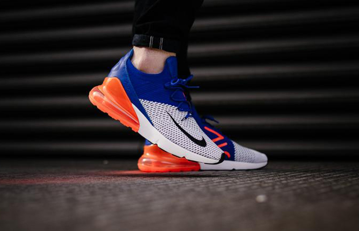 new products 80f36 c024d Nike Air Max 270 Flyknit Blue AO1023-101