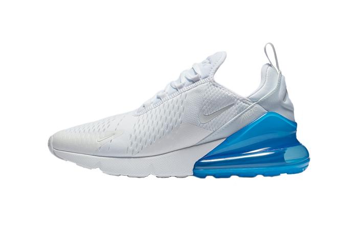 new styles d8fa0 ff63e Nike Air Max 270 White Blue AH8050-105 01 ...